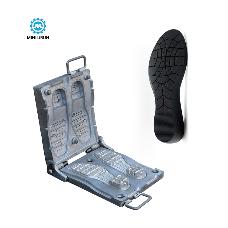 high quality casual sole mould men dress shoes mold for rubber outsole making on molding shoe machine