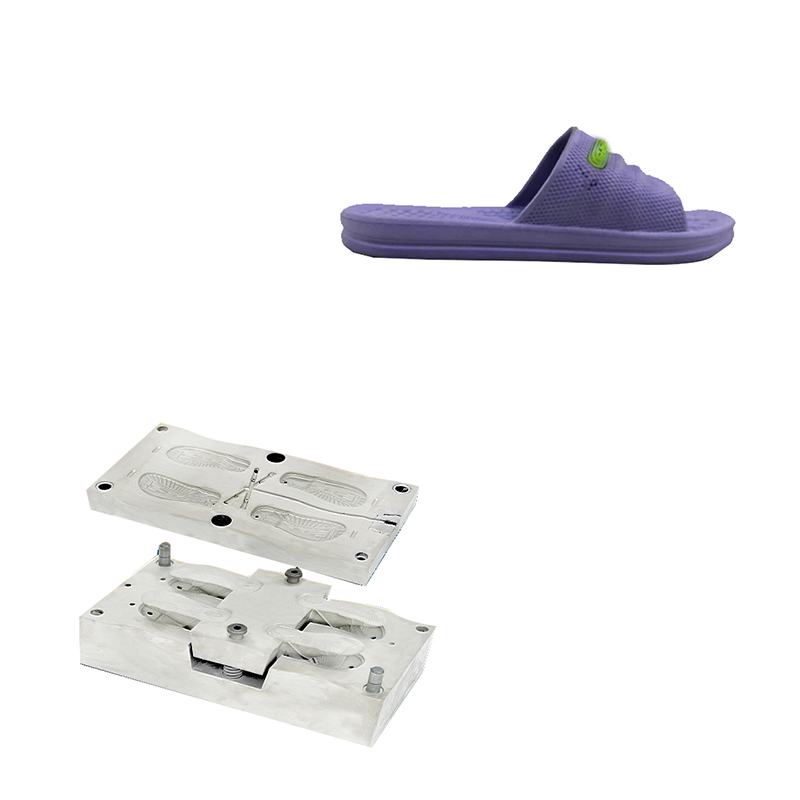 Two Colorseva Injection Slipper Shoes Mold Clog