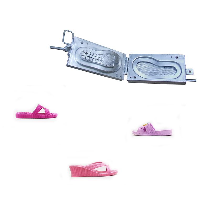 Automatic PVC Air Blowing Shoe Mold Sandals Making