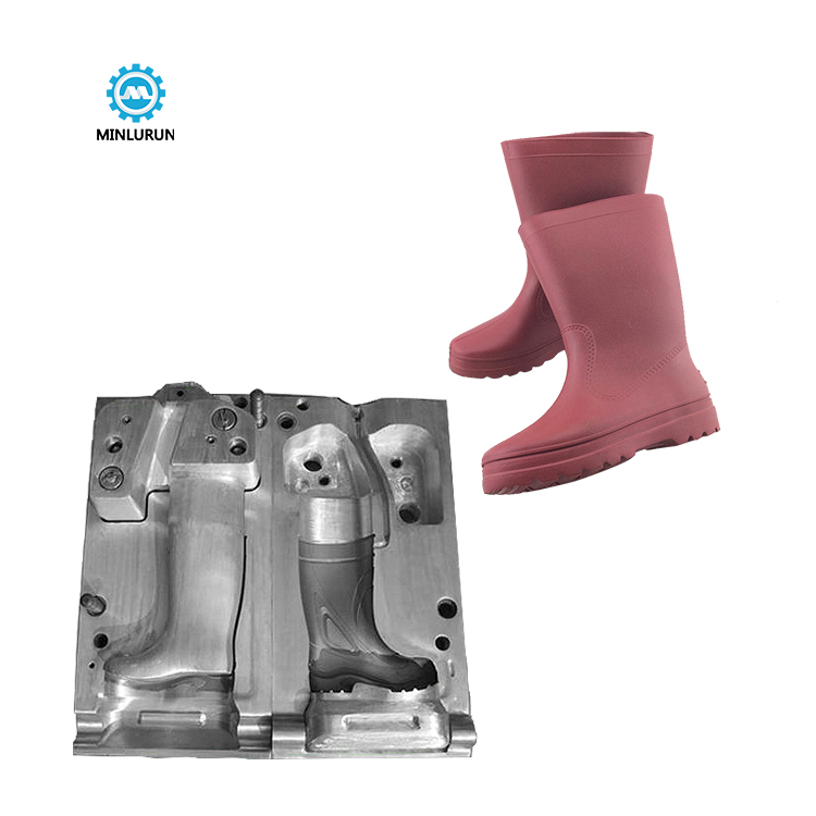 One Color Eva Rain Boots Shoes Mould Wink Rank Metal Molds For Polymer Casting