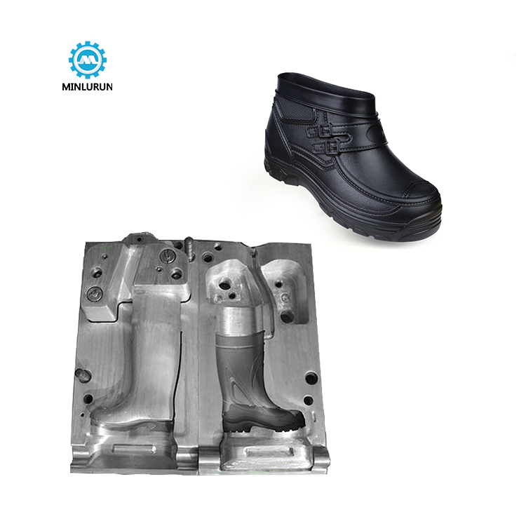 EVA high cup boots mold shoes die cast mould plastic safety shoe injection moulding dies