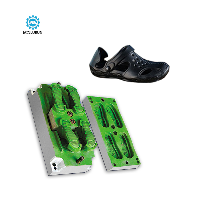 1 Moulds 2 Pairs Garden Shoe Mould EVA Injection Shoes Molding Manufacturer Molds