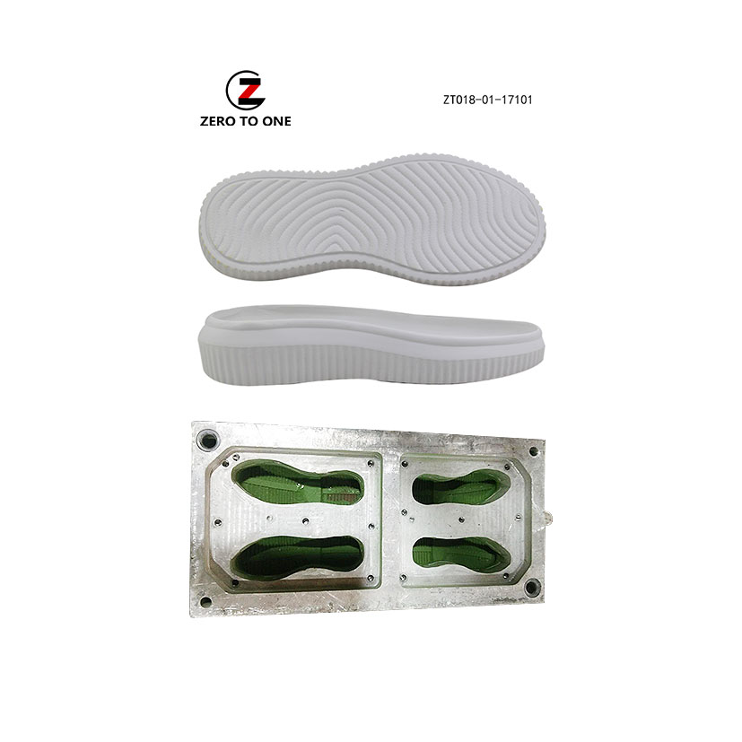 Eva Shoe Sole Injection Mold Manufacturers From Fujian Outsole Mould Factory Price For Footwear Die Making