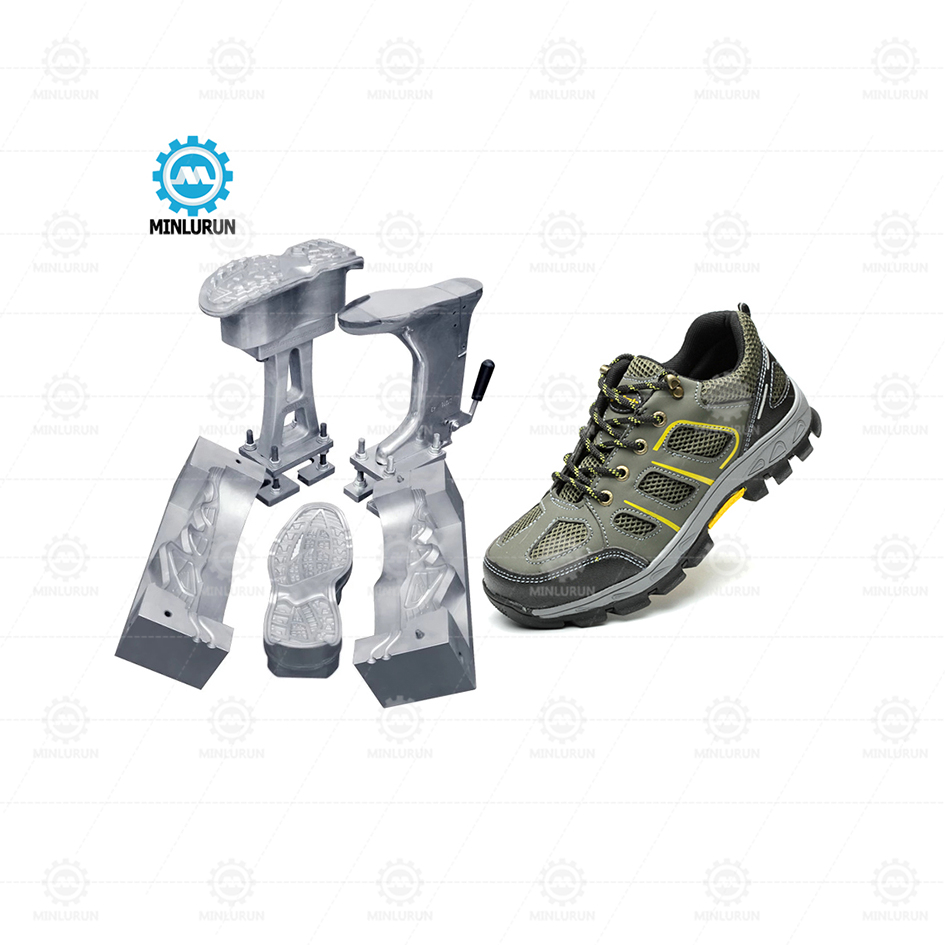 New Design Pu Dip Footwear Mold Aluminium Safety Shoe With High Quality