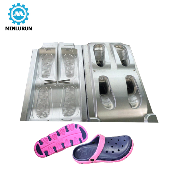 100% Cnc Made Pvc Croc Shoes Mold Injection Mould By 7075 Aircraft Aluminium