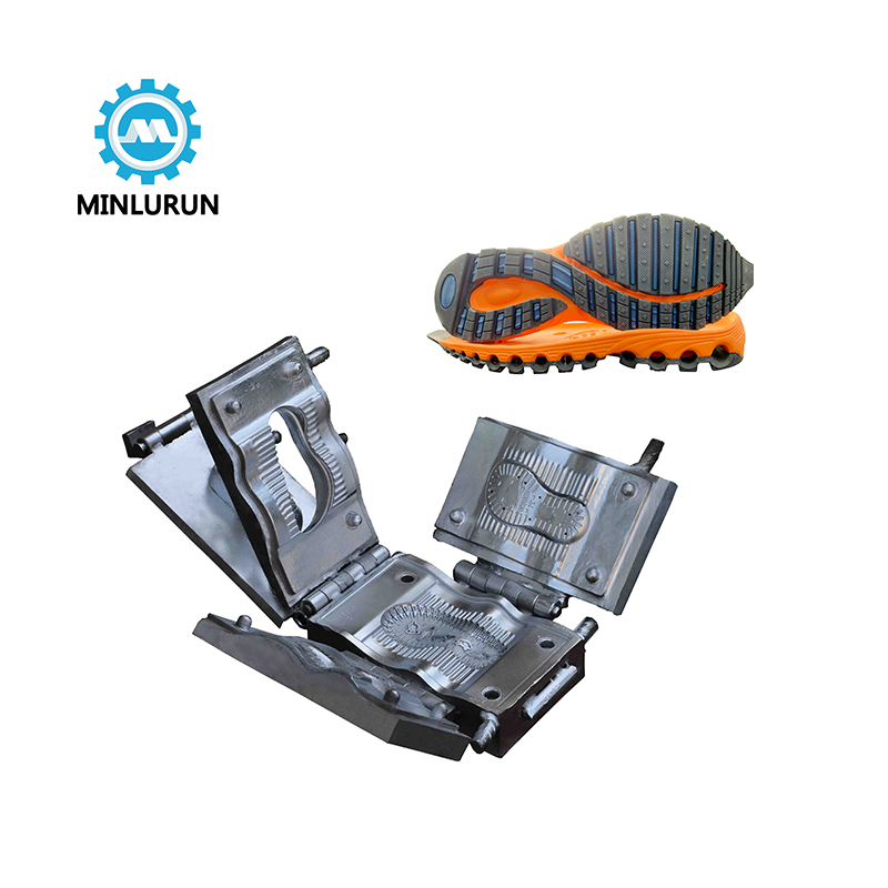 Quanzhou Yingrun Aluminium Injection Mold For Tpr Bottom Running Shoe Outsole