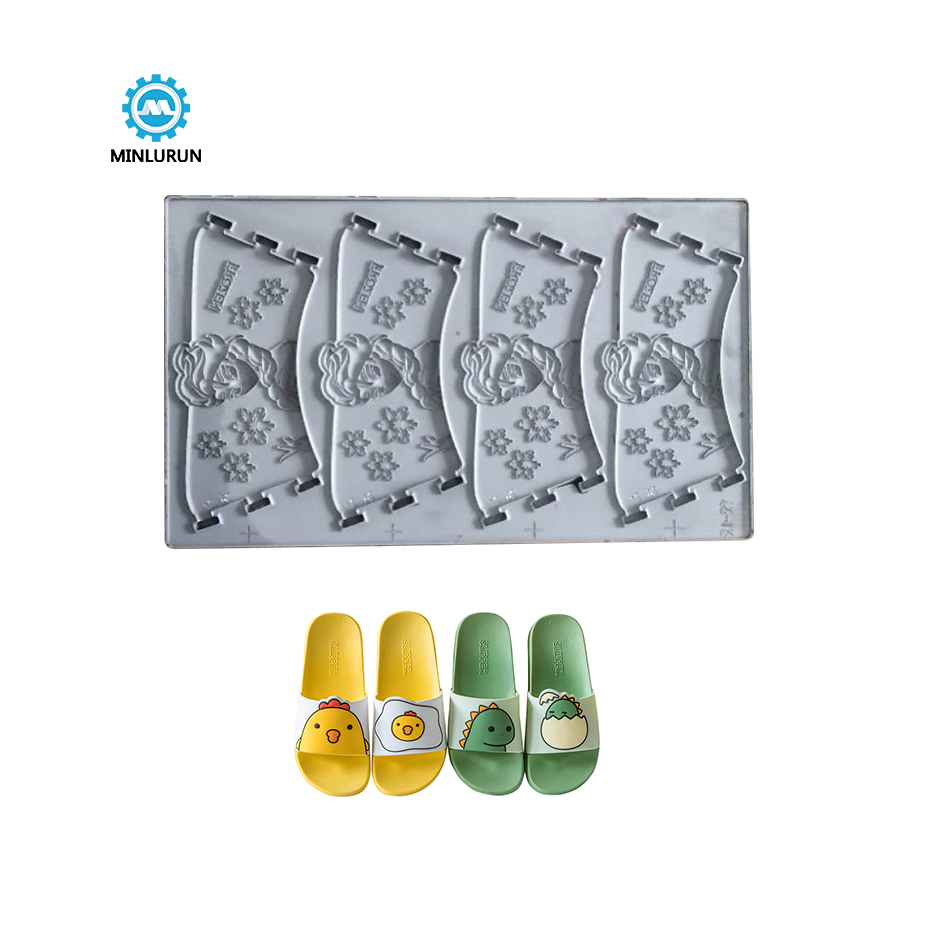 New Design Plastic Double Shoe Mold Pvc Shoes Making Mould For Footwear Casual Outsole