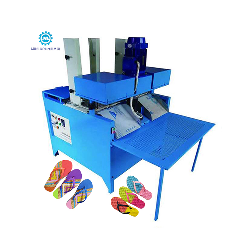 Factory Cheap Hot Eps Shoe Filler Mould - Automatic Eva Flip Flop Sole Hole Drilling Machine With Dust Collector – Yingrun