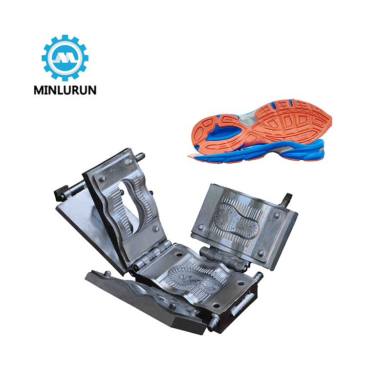 Three Color Tpr Injection Sport  Sole Mould Making For New Style Sport Shoe Outsole