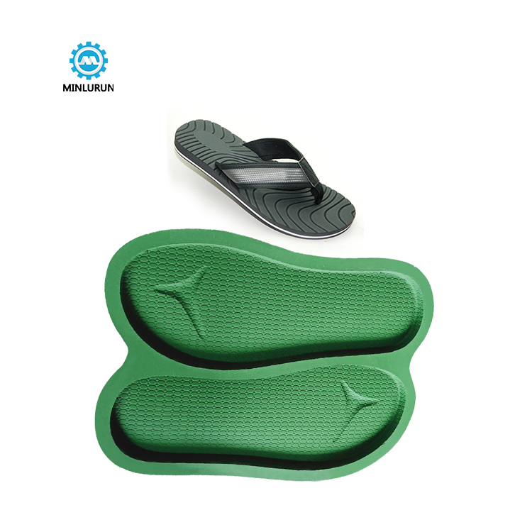 Slipper Embossing Insole Mold Comfortable Men Sole For Summer Shoes