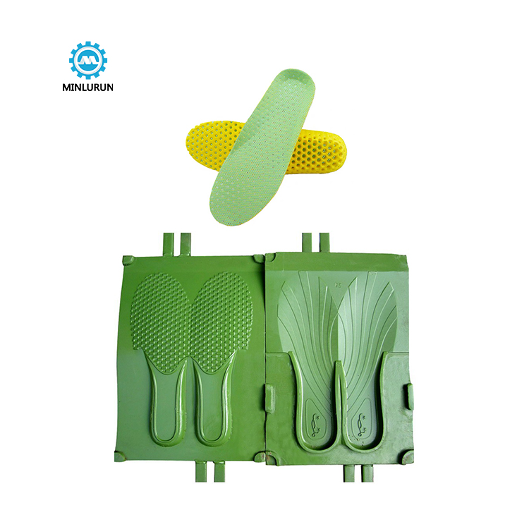 China wholesale Insole Shaping Machine – Eva Sheet Insole Mould Pvc Pcu Women Shoe Slipper Sole Outsole Moulds Making Shoes Mold Die For Footwear – Yingrun