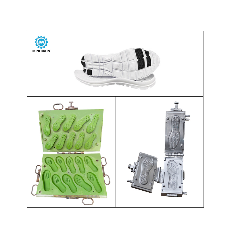 Sport Upper Sole Mold Eva Tpr Strap Mould Air Blowing Shoe Casual