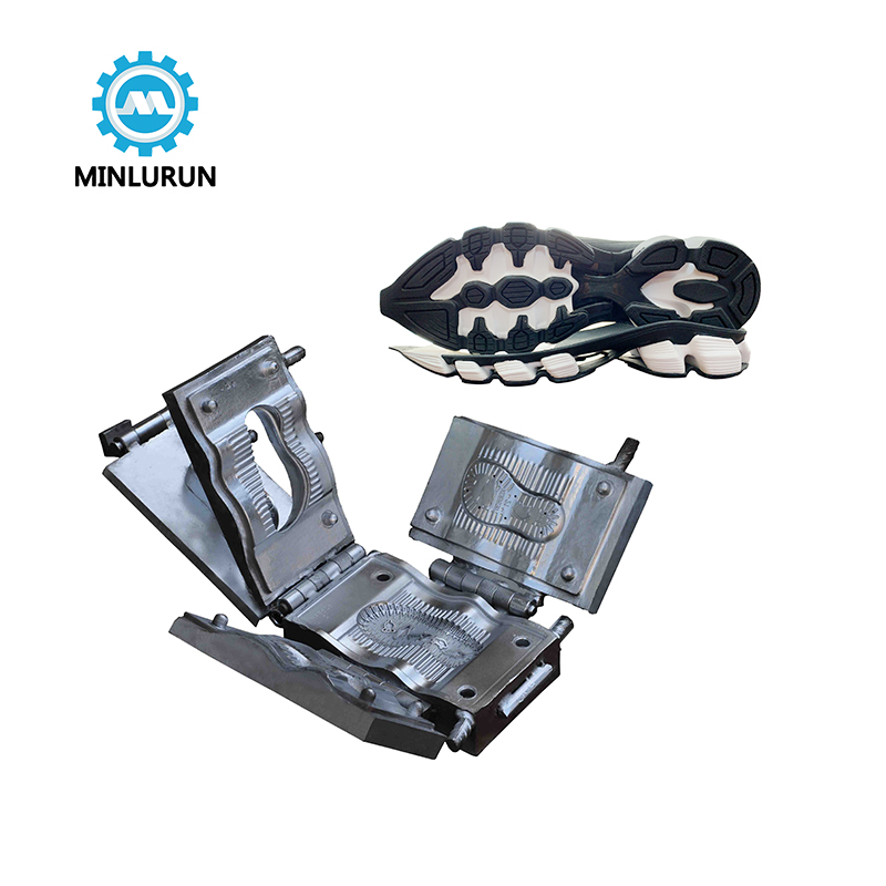 Three Color Tpr Steel Injection Molds For Sport Outsole With Brand New Design