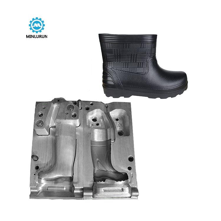 eva boots mold safety shoes injection die maker plastic shoe mould