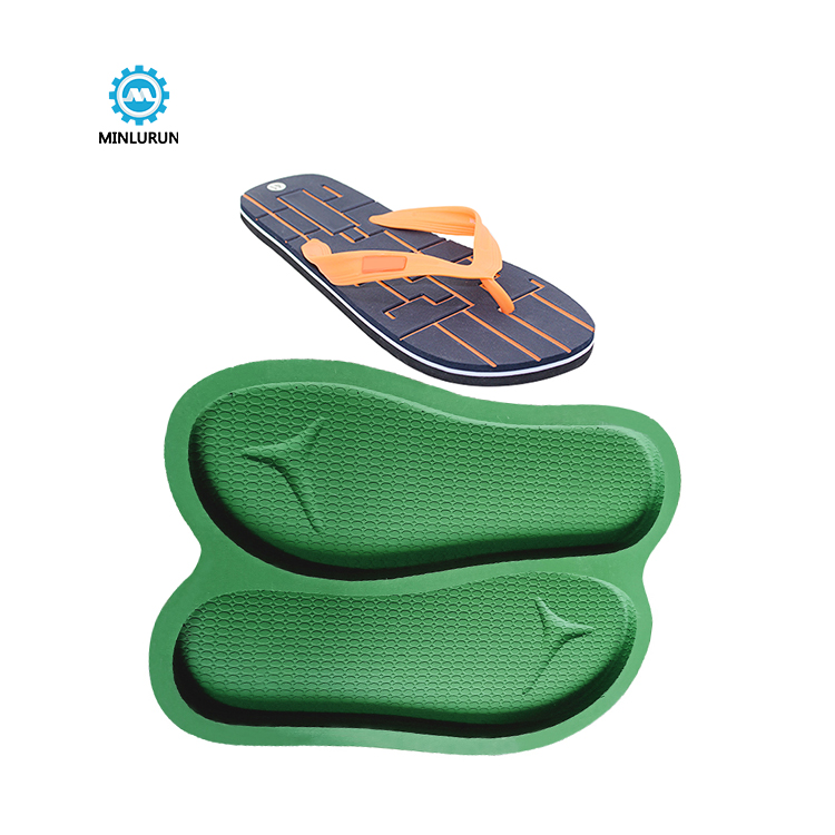 Slipper Embossing Insole Mold Brazil Fashion Jogger Sole For Summer Shoes
