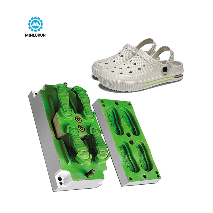 Outdoor Shoe Mould Eva Injection Garden Shoes Mold Cnc Making Die For Mens Plastic Sandal