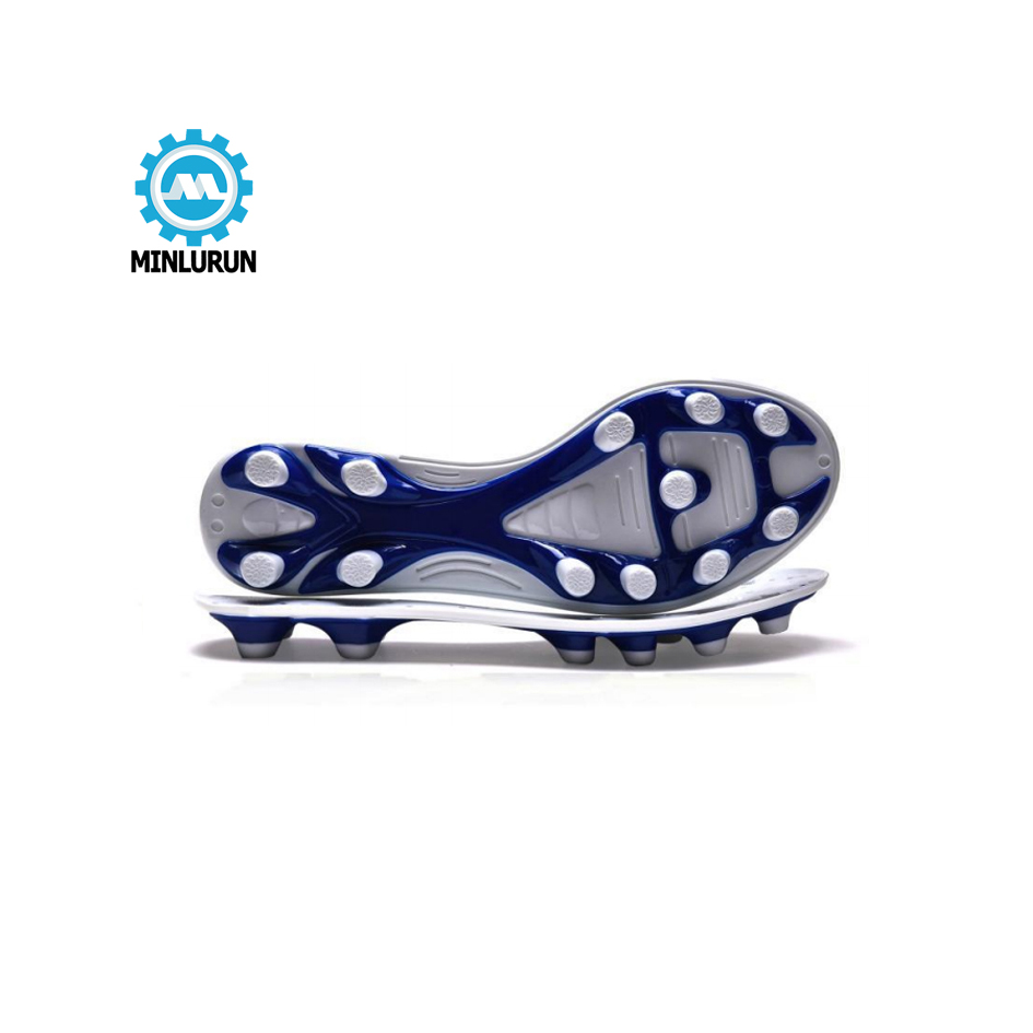 2018 Latest Design Silicone Mold Fondant - 2020 Manufactory high solidity Wholesale TPU material Football Shoes sole Men'S Sneaker soccer Outsole – Yingrun