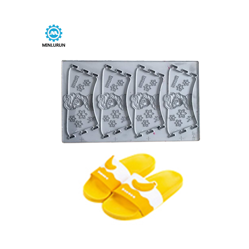 2018 Good Quality Shoe Upper Hot Press Mold - Pure White And Translucence Delicate Summer Sandal Shoe Kids Design Mould For Children Pvc Slipper Siilicon Upper Mold – Yingrun