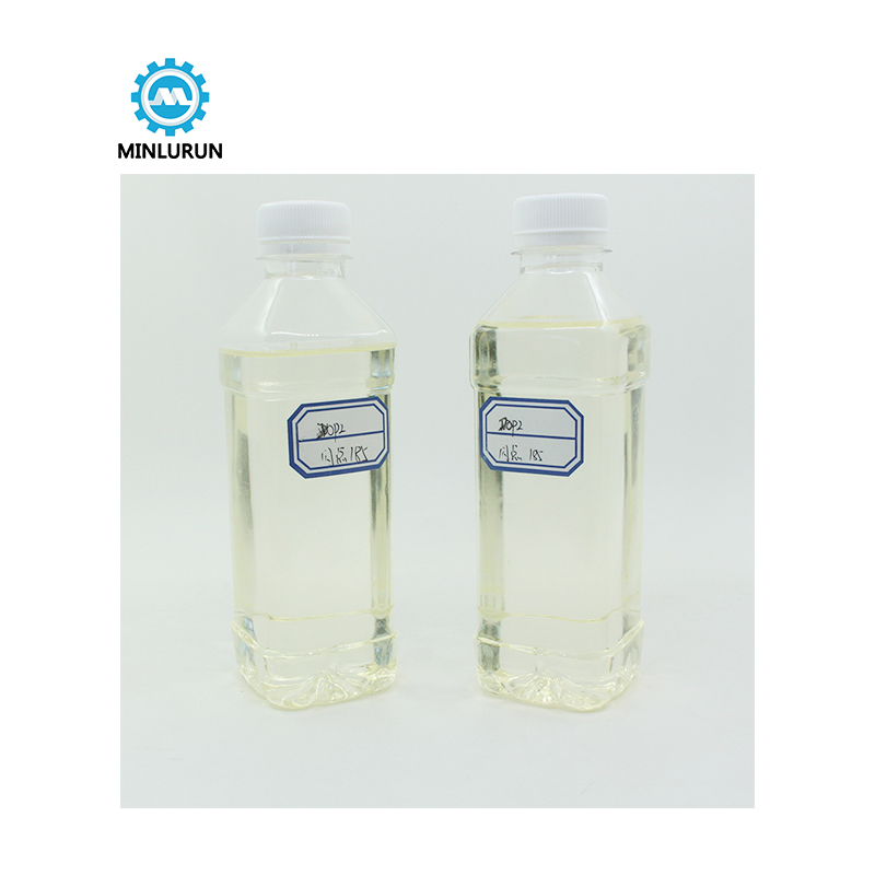 Chemicaly Auxiliary Agent Transparent Oily Liquid Pvc Plasticizer Raw Material DOP Chemical Featured Image